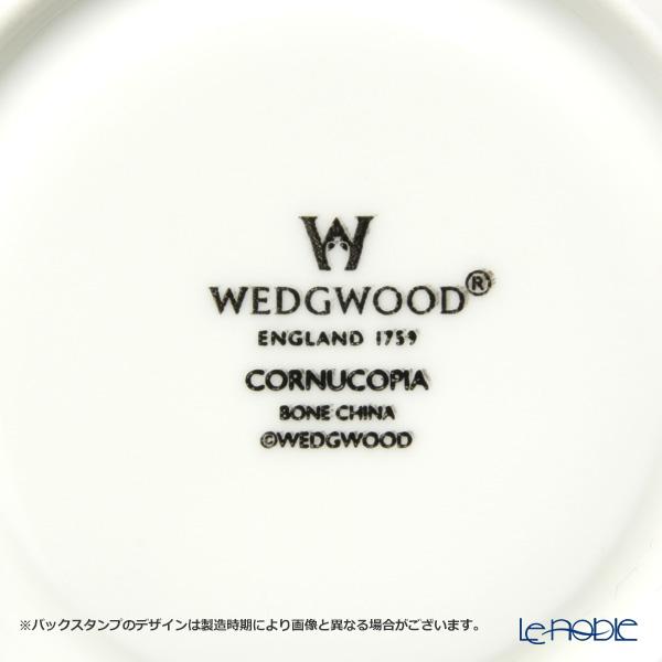 ウェッジウッド(Wedgwood) コーヌコピアティーカップ&ソーサー(リー) ペア 【ブランドボックス付】