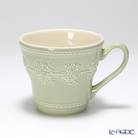 Wedgwood 'Earthenware - Festivity' Sage Green & Pink Mug 350ml (set of 2 colors)