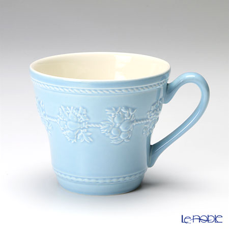 Wedgwood 'Earthenware - Festivity' Sage Green & Blue Mug 350ml (set of 2 colors)