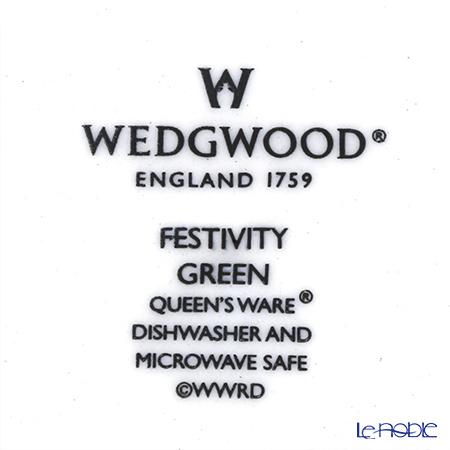 Wedgwood 'Earthenware - Festivity' Sage Green Plate 21cm (set of 2)