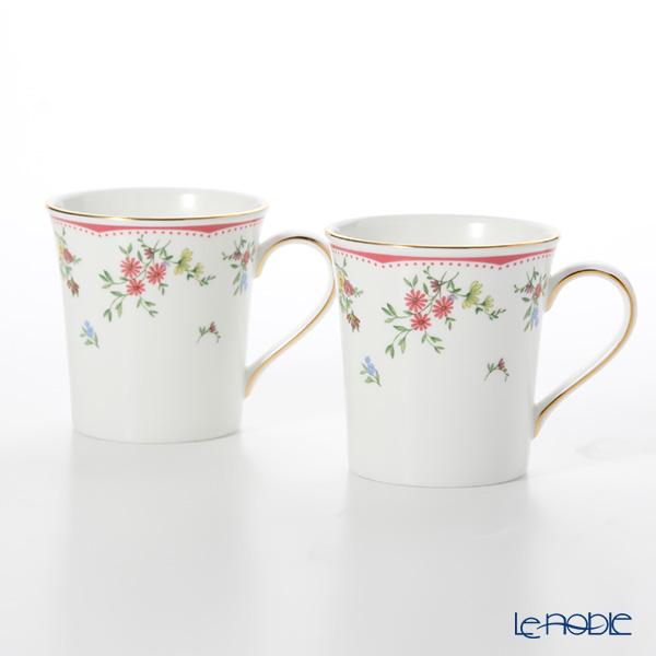Wedgwood 'Floret' Delphi Beaker Mug 300ml (set of 2)