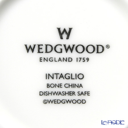 ウェッジウッド(Wedgwood) インタグリオティーカップ&ソーサー 200cc ペア