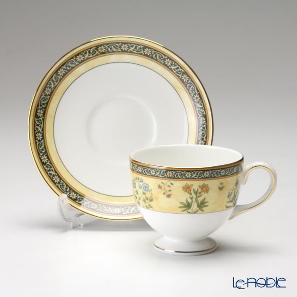 Wedgwood 'India' Leigh Tea Cup & Saucer 200ml (set of 2)