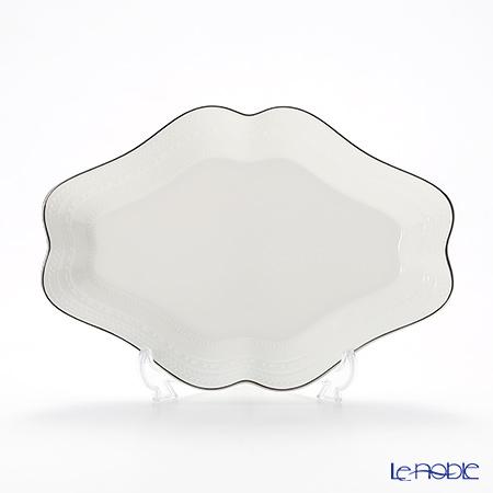 Wedgwood 'Intaglio' Plutinum Diamond Dish 22x15cm