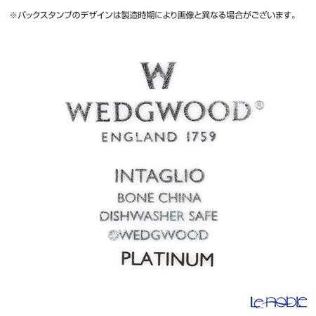 ウェッジウッド(Wedgwood) インタグリオ プラチナダイヤディッシュ 22×15cm 【ブランドボックス付】