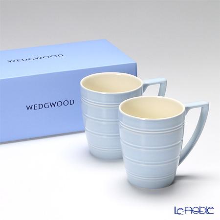 ウェッジウッド(Wedgwood) ジャスパーコンラン カジュアルマグ(ブルー) ペア 【ブランドボックス付】