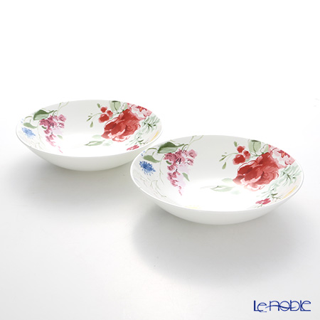 Wedgwood 'Jasper Conran - Floral' Bowl 22.5cm (set of 2)