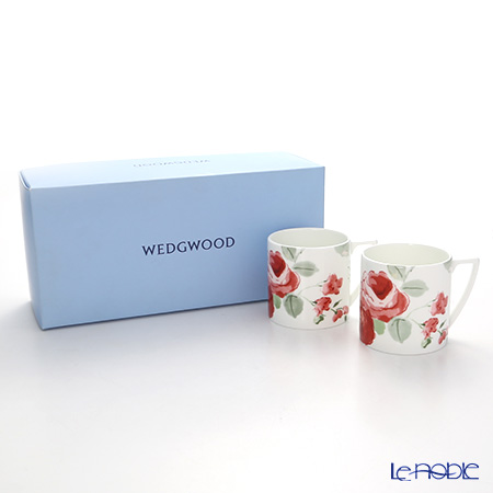 Wedgwood 'Jasper Conran - Floral' Mug (S) 290ml (set of 2)