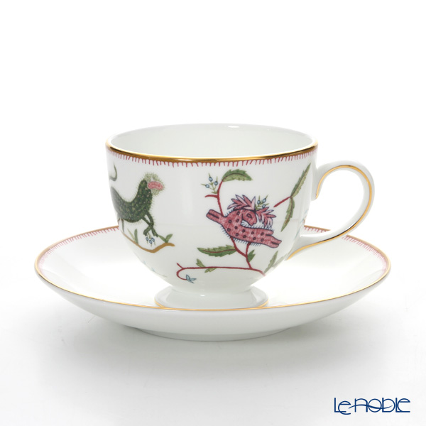 Wedgwood Mythical Creatures Leigh Teacup & Saucer (Set of 2)