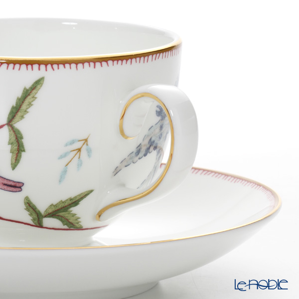 Wedgwood Mythical Creatures Leigh Tea Cup & Saucer 150ml (set of 2)