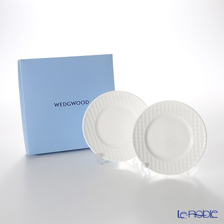 ウェッジウッド(Wedgwood) ナイト&デイプレート 15cm(チェック) 【ブランドボックス付】