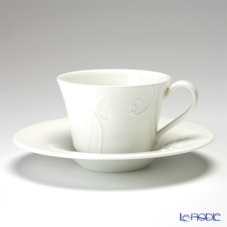 Wedgwood 'Nature' Tea Cup & Saucer, Bowl, Plate (set of 12 for 4 persons)