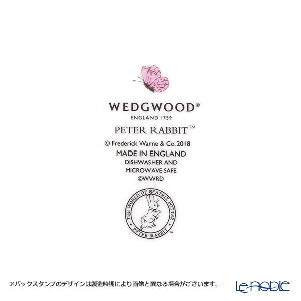 ウェッジウッド(Wedgwood) ピーターラビットプレート 18cm ブルー&ピンク ペア
