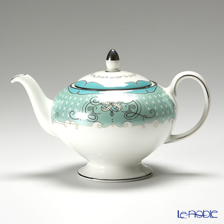 Wedgwood Psyche Teapot, Sugar box and Cream jug