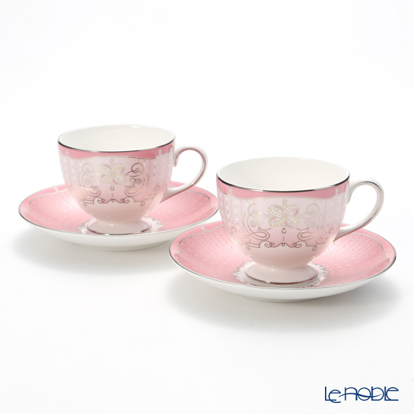 Psyche rose Wedgwood (Wedgwood) Tea Cup & Saucer (Lee) paired with brand