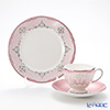 Psyche rose Wedgwood (Wedgwood) Trio set (Lee)