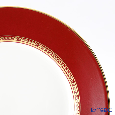 Wedgwood Renaissance Red Plate 20 cm and Teacup & Saucer