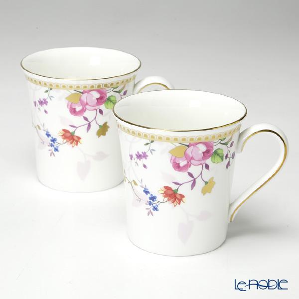 Wedgwood Rose Gold Mug set of  2 with gift box