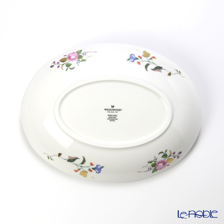 Wedgwood Rose Gold Oval Dish 25 cm with gift box