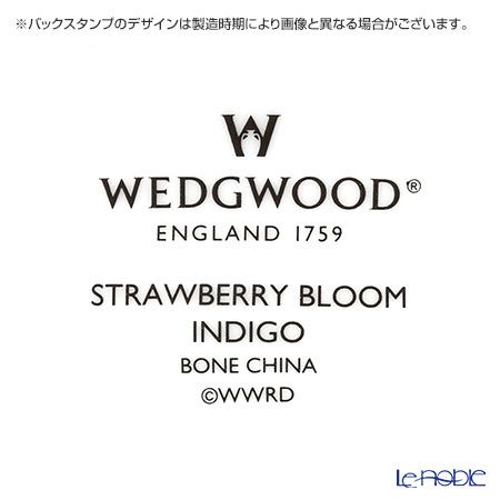 ウェッジウッド(Wedgwood) ストロベリーブルームインディゴジャパニーズティーカップ 200cc 5客セット