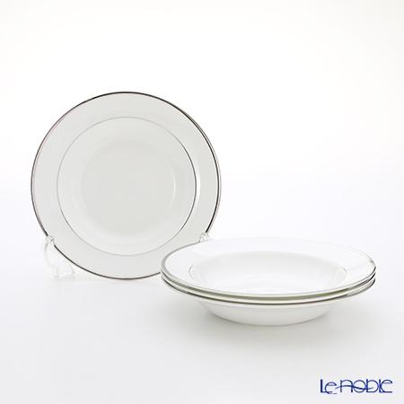 Wedgwood (Wedgwood) Stirling Soup plates set of 4 20 cm