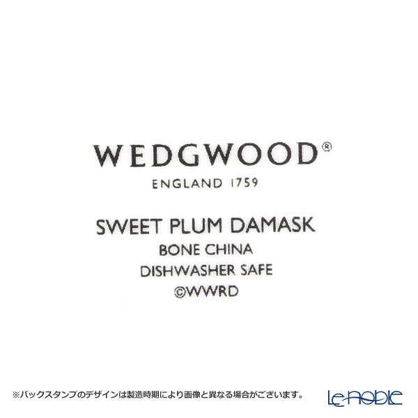 Wedgwood Sweet Plum Damask Peony Teacup & Saucer (Set of 2)