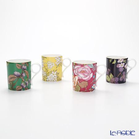 Wedgwood Tea Garden Mug set of 4 colours