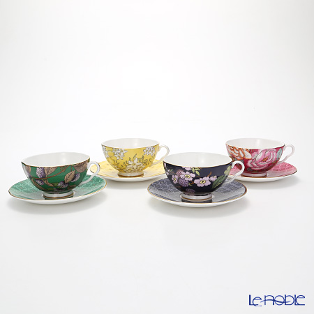 Wedgwood Tea Garden 2-Piece Set set of 4 colours