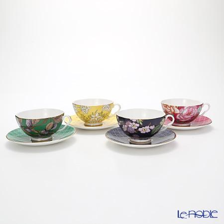 Wedgwood 'Tea Garden' Tea Cup & Saucer (set of 4 colors)