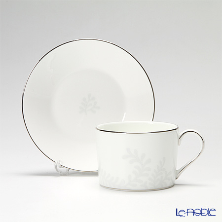 Wedgwood Vera Wang Trailing Vines Teacup & Saucer and Plate 20 cm