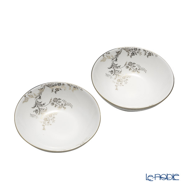 Wedgwood Vera Wang - Lace Platinum Multi Bowl 13cm (set of 2)