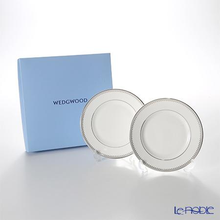ウェッジウッド(Wedgwood) ヴェラ・ウォン グロスグレイン プレート 15cm ペア 【ブランドボックス付】
