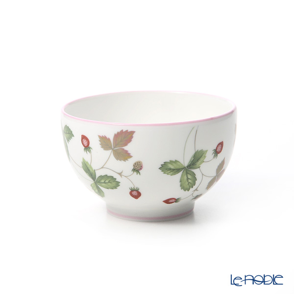 Wedgwood 'Wild Strawberry Casual' Pink & Green Japanese Tea Cup & Petit Tray / Saucer 150ml (set of 2 colors)