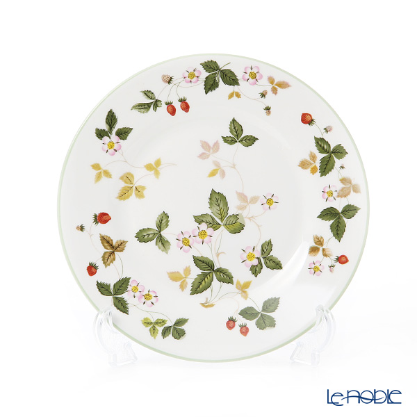 Wedgwood 'Wild Strawberry Casual' Pink & Green Plate 20cm (set of 2 color)