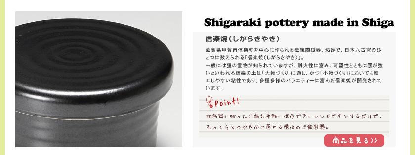 Shigaraki pottery 信楽焼き