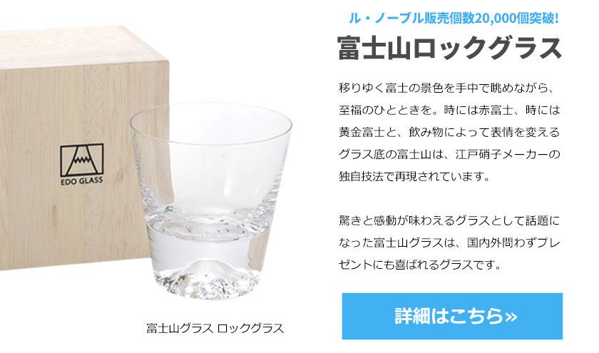 田島硝子 富士山グラス