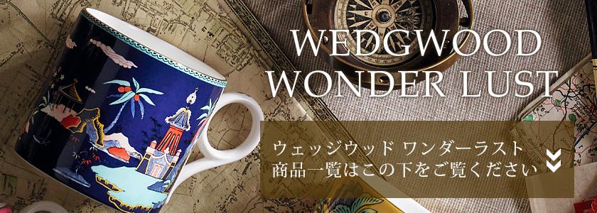 ウェッジウッド「ワンダーラスト」新入荷