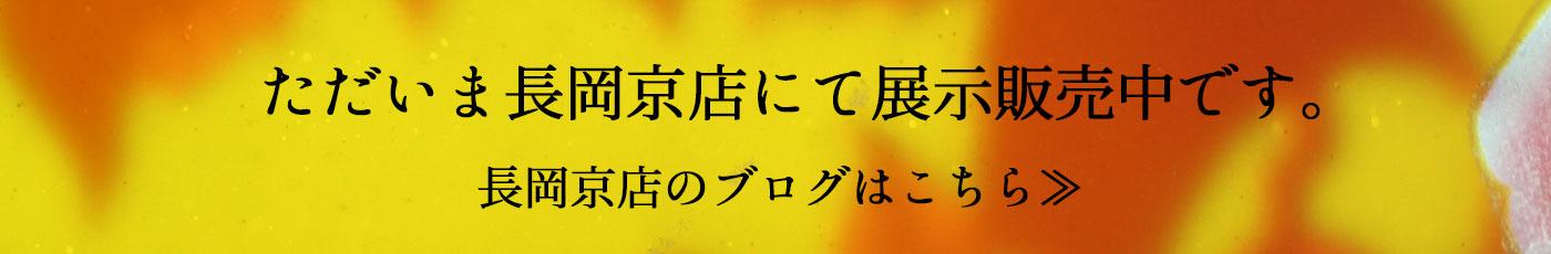 ガレランプは長岡京店で展示販売中です。