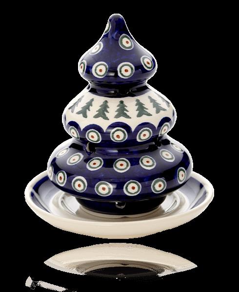 ポーリッシュポタリー(ポーランド陶器) ボレスワヴィエツ クリスマスツリー 14.6cm 1285/200
