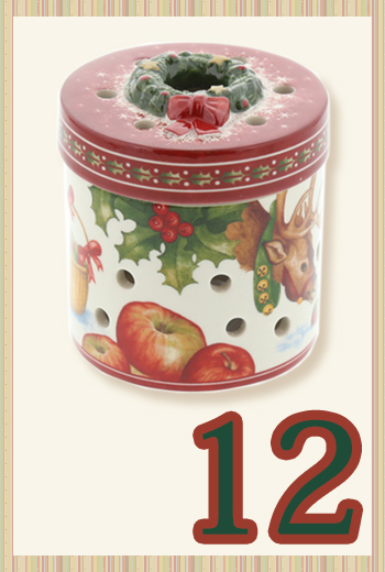 ビレロイ&ボッホ(Villeroy&Boch) クリスマストイズ レインディア(ラウンド) 9cm 6626 キャンドルホルダー