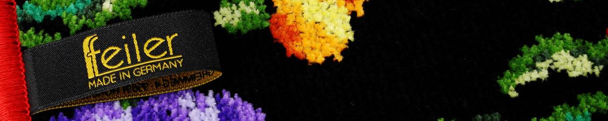 厳選された綿を100%使用し、フェイラー独自の技術により生み出されたシュニール織のハンドタオル。