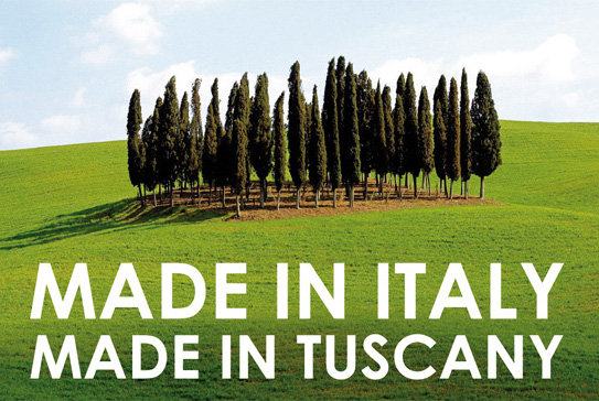 MADE IN ITALY, MADE IN TUSCANY