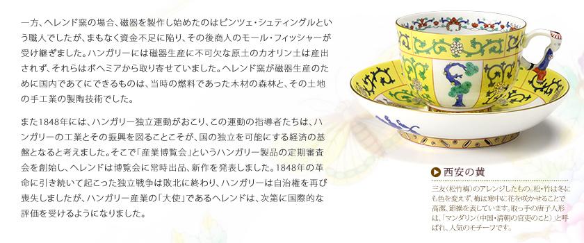 ヘレンド 西安の黄